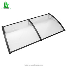 Best selling polycarbonate glass canopy awnings system