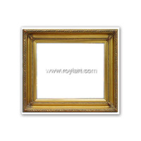 ROYIART antique wood carved mirror frame