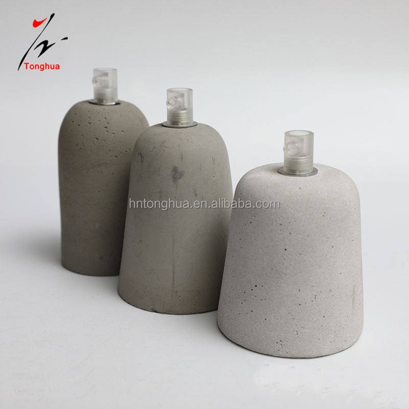 Concrete lamp holder E27 industrial concrete Led Pendant Light