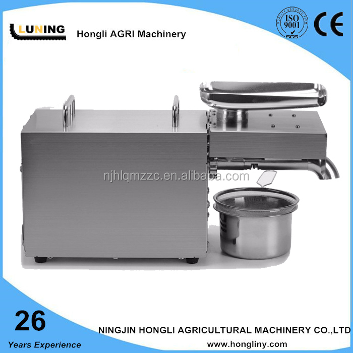 Small Cold Peanut Oil Press Machine/Oil Expeller/Oil Extraction Machine kitchen machine