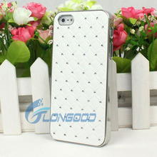 Crystal Luxury Bling decoration hard back case cover for iphone5