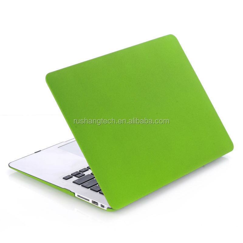 For Apple Netbook Quickdand green color case for macbook Factory Supplier case for macbook cover Eco-friendly PC Air 13'' case