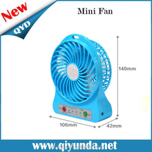 Wholesale portable usb fan with led clock usb tower fan