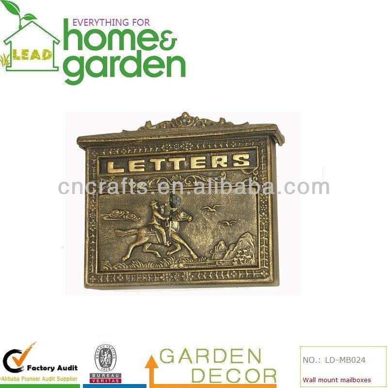cassette postali mailbox : Montaggio a parete delle cassette postali, cast mailbox-Distacco-Id ...