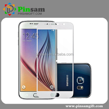 Hot For Samsung Galaxy S6 Mirror Effect 3D Full Screen Coverage Tempered Glass Front Screen Protector Film