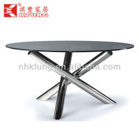 round stone top dining tables