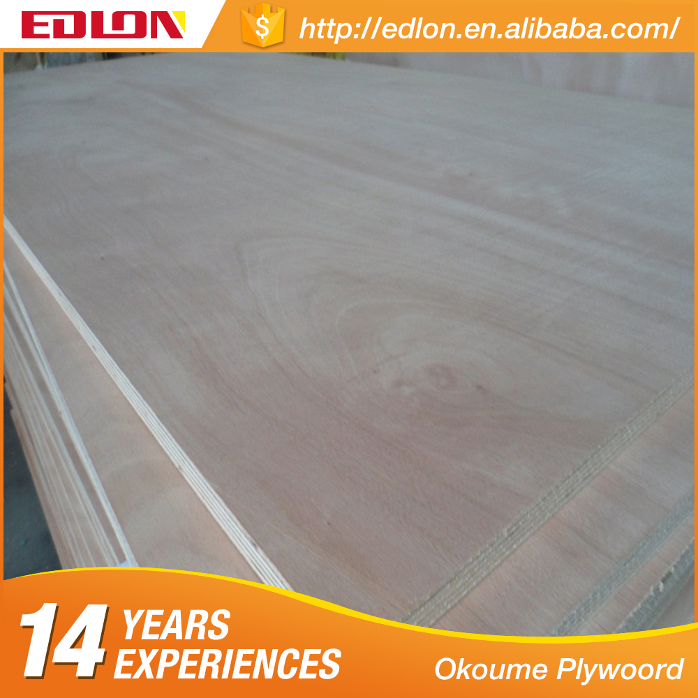 Marine Okoume Plywood Sheet Meranti plywood for furniture