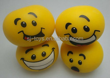 Novelty Various Facial Look Mesh Squish Anti Stress Ball Toy