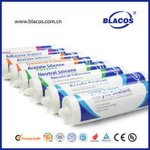 Professional Manufacturer Variety Colour Available Silicone Based Black Mastic Sealant
