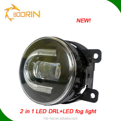China accessories for car led fog light with daytime running light IP68 CE FCC ROHS certificate 3.5 inch car led headlamp kit