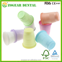 TA009-1 ZOGEAR DISPOSABLE PLASTIC CUP 5OZ Colors