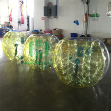 Hot selling!inflatable loopy balls,plastic balloon inflatable soccer bubble ball