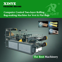 Two-layer Rolling Bag-making Machine for Vest and Flat Bags
