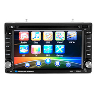 2 din universal supporting navigation car DVD player with HD touch screen