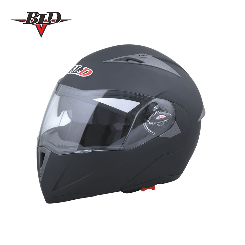 Alibaba Best Seller Motorcycle Helmet ABS Anti-fog Double-len Inner Sun Visor Safety Helmet