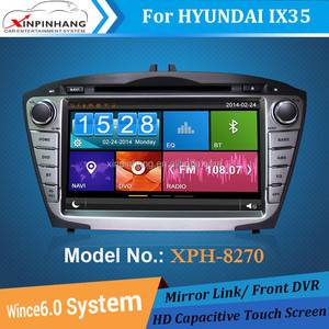 8 inch touch screen car dvd for HYUNDAI IX35 with gps,radio,3G/WIFI,phone link