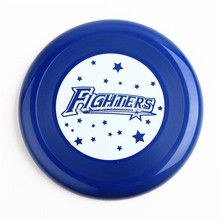 "Ningbo manufacture 9"" customed plastic frisbee blank 9 inch flying disc"