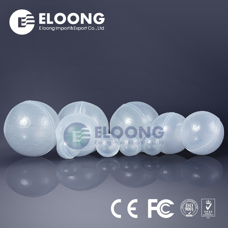 High Quality Non Toxic 10Mm 20Mm 25Mm White Clear Hollow Plastic Balls For Water Treatment