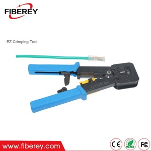 China Supply Multi-Function EZ RJ11 RJ12 RJ45 LAN Cable Crimping Tool Network Crimpers