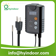 For heating applian mini digital thermostat for controlling Heat Mats/Hydroponics seedling heat mat digital thermostat