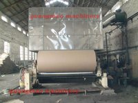 Liner board paper/box paper/bag paper making machine, waste paper recycling machine, China Supplier