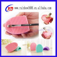 Silicon Brush Egg/Cleaning Makeup Brush/silicone cleaning brush