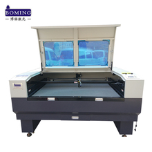 1560 1610 1810 1813 2010 fabric layer textile dioxide laser cutting engraver machine for garment shoes bag industry