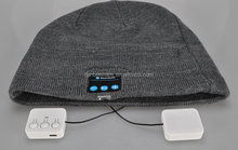 Wireless Bluetooth beanie hat with headphone