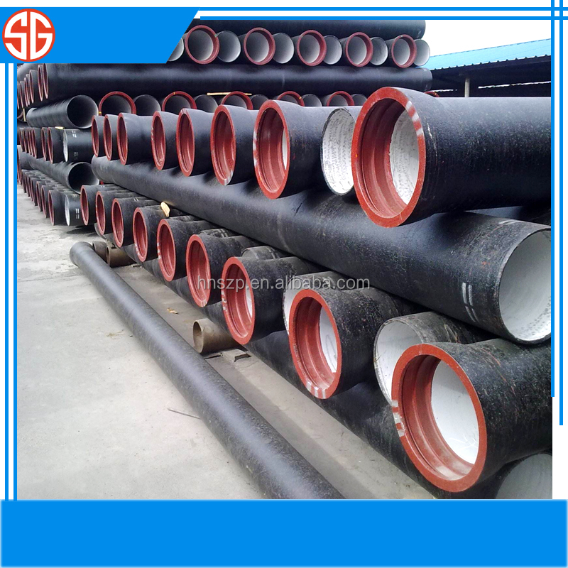 High Quality Water Piplines Epoxy Ductile Iron Pipes electric iron parts