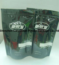 Stand up pouch/Auminum foil food packaging bag with zip lock