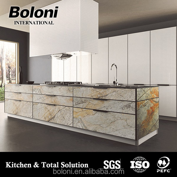 aluminum small kitchen design with good quality