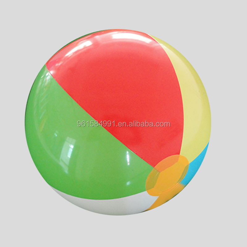 Plastic PVC inflatable beach ball toys