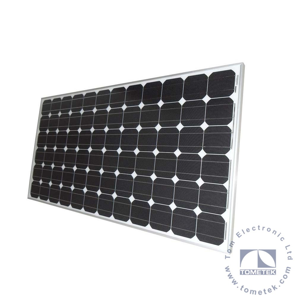 Mono Crystalline Photovoltaic Solar Panel kit 310W for home lighting