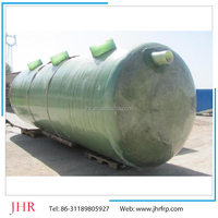 Sewer treatment frp septic tank made in China