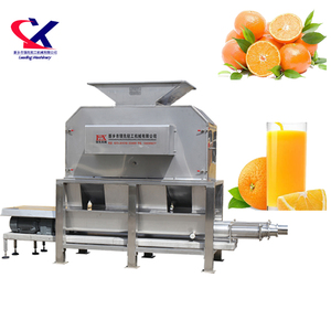 Industrial Orange Juice Extractor Fruit Juice Processing Plant Used