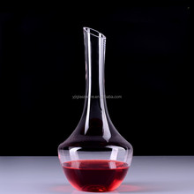 Hand blown lead free crystal wine decanter italian glassware