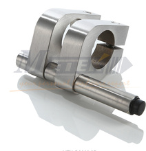 finished glass door stop