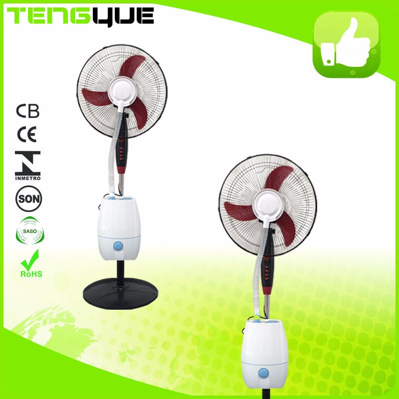 16 inch Factory indoor outdoor cool industrial water mist fan