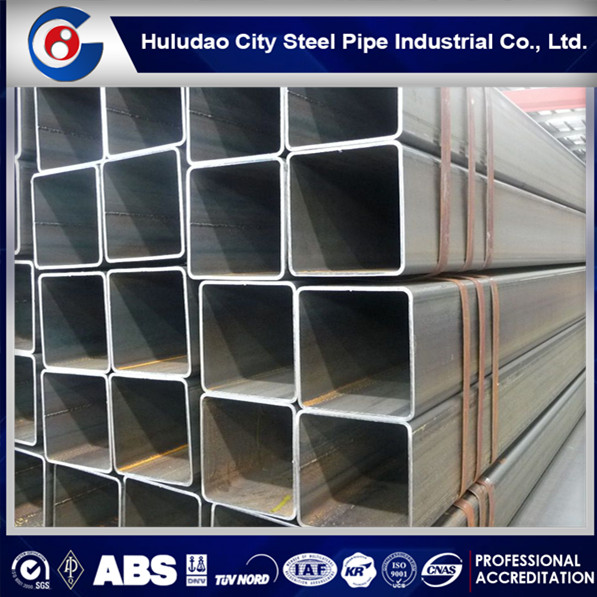 High quality construction material ASTM A500 mild steel square tubing sizes