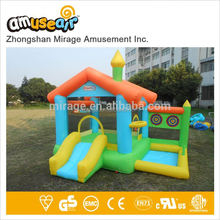 Commercia Inflatable For Kids Bouncer With Castle Slide And Jump Hire