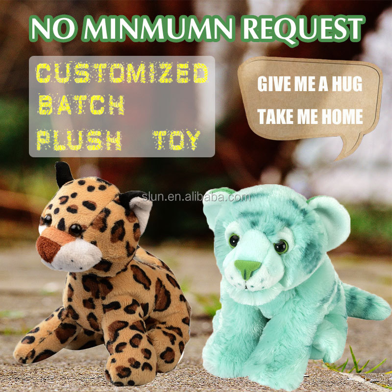 New Style Plush Tiger Toy Custom Toy Plush Tiger For Child Plush Stuffed Tiger Toy