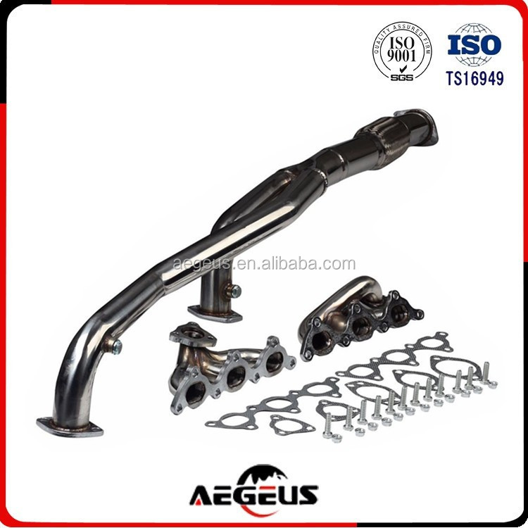 For 91-99 Mitsubishi 3000GT VR-4 91-96 Dodge Stealth R/T Turbostainless steel exhaust header