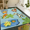 Kids room carpet hand tufted rug