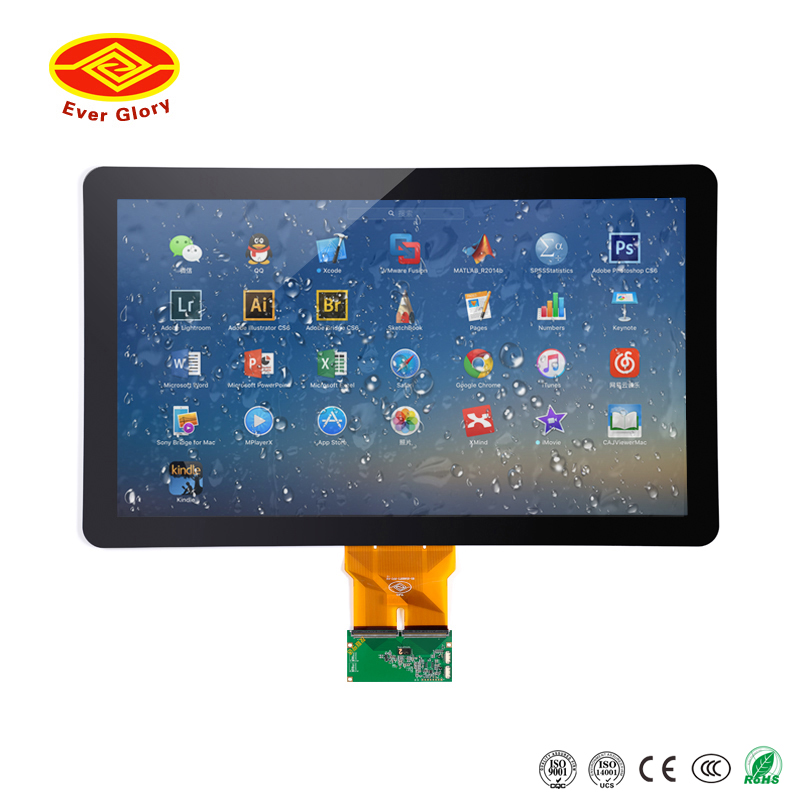 multi points 23.8 inch usb powered touch screen monitor with USB interface