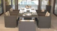 Hot sale Outdoor All Weather 10 seater outdoor dining set