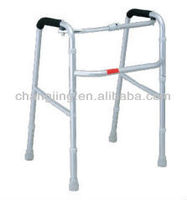 Aluminum folding adjustable walker