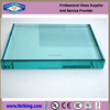 Fire resistant tempered glass with CE certificate