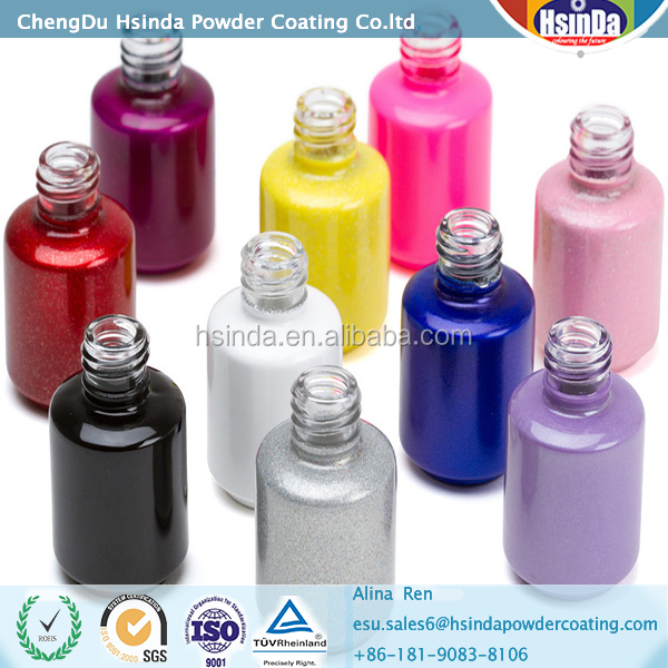Ral color powder coating for glass bottle powder coating paint
