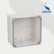 Plastic enclosures for electronics transparent 200*200*130mm Waterproof (DS-AT-2020)