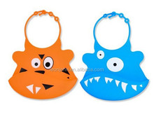 Best Silicone Baby Bib with Food Pocket From Jamika Products - Set of 2 - Keeps Kids Clean - Made From Waterproof Washable Scent